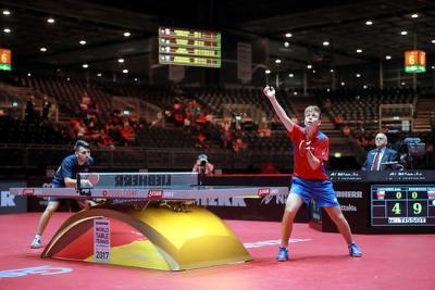 ЧМ-2017: по итогам квалификации у российских спортсменов настольного тенниса 1 потеря, затем 3 дуэта