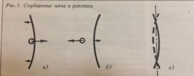 Ракетка в настольном теннисе  Два типа оснований.