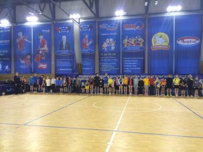 Победители и призеры Первенства Архангельской области по настольному теннису среди юношей и девушек.
