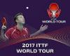 В календарь ITTF world tour-2017 снова не попал Открытый чемпионат России по настольному теннису