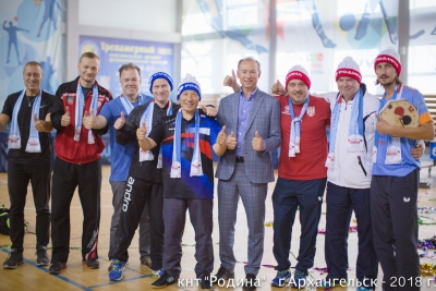 Все фото с V Международного турнира по настольному теннису «На Призы РОДИНА А.Ф.»