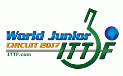 Календарь ITTF World Junior Circuit-2017 настольного тенниса до 18 лет