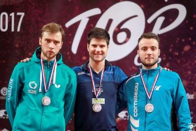 Серебряную медаль выиграл россиянин на европейском Топ-16 настольного тенниса во Франции-2017