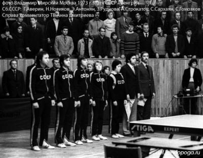Первый в истории сбор национальной команды Советского Союза.
