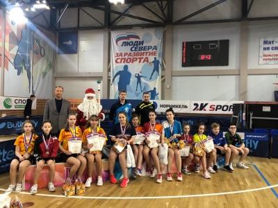 Первенство Архангельской области по настольному теннису 2019 г.