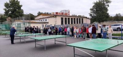 В Архангельске прошли финалы сезона по настольному теннису во дворах