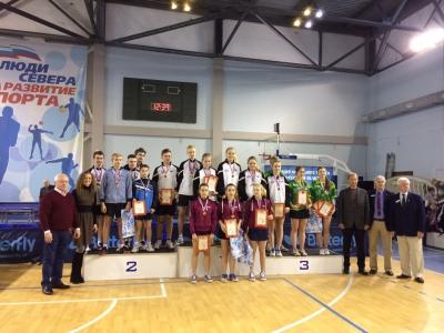 Архангельские теннисисты завоевали право выступить на Первенстве России.